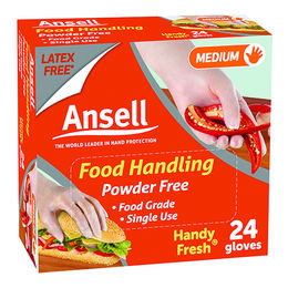 Ansell Handy Fresh Disposable Gloves Powder Free